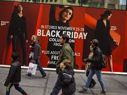 sales overshadow stores in 4 day shopping frenzy
