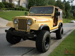 jeep renegade stance jeep cj 7 renegade unrestored original paint solid ca cj rare