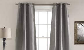 How To Hang A Drapery Scarf by How To Measure Curtains For Bay Windows Overstock Com