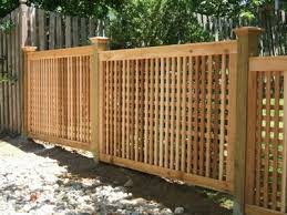 wood lattice wall 5 4 high square lattice fence with 5x5 posts and pyramid