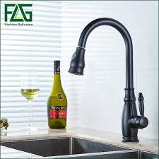 Retro Kitchen Faucet Aliexpress Buy Retro Kitchen Faucet Black Colour Water Tap