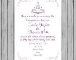 Fairytale Wedding Invitations Vintage Fairytale Royal Wedding Reception Menu Digital File