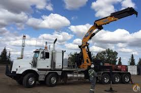 2007 western star 4900sa w effer 750 8s 38 ton knuckle boom