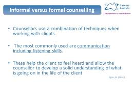 Skills And Techniques Used In Counselling 1 Introduction To Counselling Ppt
