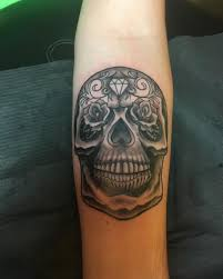 50 beautiful day of the dead tattoos ideas and designs 2017