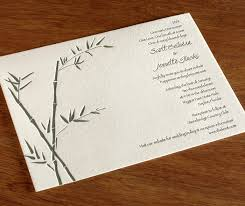 paper for invitations bamboo paper for wedding invitations for brides that bamboo