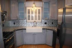 tin tiles for kitchen backsplash faux tin tiles for kitchen backsplash great home decor how to