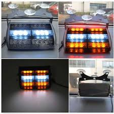 use of amber lights on vehicles 12v 18 led emergency vehicle strobe lights for windshields dashboard
