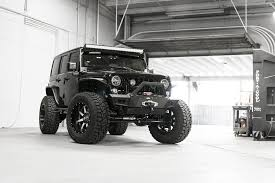 modified white jeep wrangler lifted jk with fox shocks and 20 fuel mavericks carid com gallery