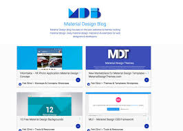 templates blogger material design material design blog awwwards nominee