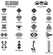 geometric tribal designs and meanings