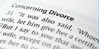 what does the bible say about divorce project inspired