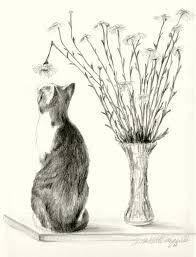 featured artwork conversation with a daisy the creative cat