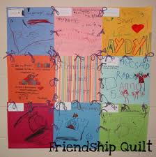 friendship quilt great for lessons on friendship or letter qq