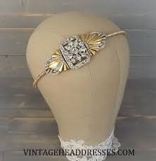 silver headband vintage gold and silver headband by vintage headdresses