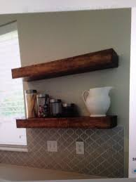 Reclaimed Wood Floating Shelves by The 25 Best Reclaimed Wood Floating Shelves Ideas On Pinterest