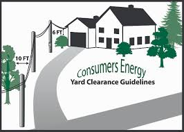 Consumers Energy Outage Map Michigan by Right Of Way Guidelines Consumers Energy