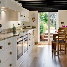 narrow kitchen ideas galley kitchen design ideas ideal home