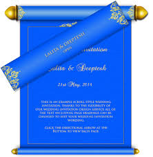 invitation card design template for event all scroll style email wedding card templates luxury indian