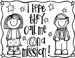 a mission melonheadz gifts coloring pages lds illustrating i hope