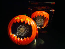 mini led strobe lights with halloween sound effects r i p