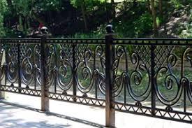 metal fence iron decorative fence aluminum fence in houston