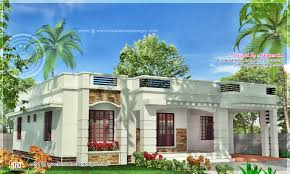 one floor houses one floor kerala style home square meter indian house plans