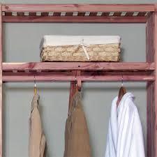 cedar closet rod kit home accents