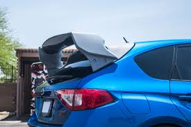 subaru wrx spoiler new carbon fiber rally wing for subaru wrx sti hatchback u2013 agency