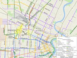 Winnipeg Map Cpr Yards Crossing Recommendations Bike Winnipeg