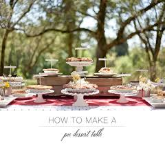 Wedding Dessert Table How To Make A Pie Dessert Table