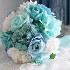 wedding flowers essex prices baby blue light mint green bridal bouquet for wedding white purple