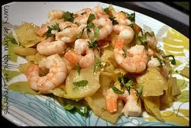 cuisiner du choux blanc curry de chou blanc aux crevettes mes petits délices