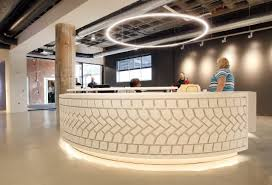 Build A Reception Desk Plans by Dealer Tire Revs Up Long Vacant Victory Center In Cleveland U0027s
