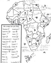 africa map answers outline map us attention on the middle east answers issues
