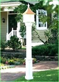 Outdoor Solar Post Light Fixtures Solar Post Lights Solar L Post Lights And Outdoor Solar
