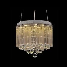 Pendant Light Rods Clear Glass Rods Shade Pendant Light Hanging Glistening