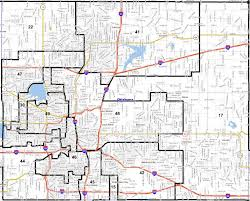 Oklahoma Counties Map Midcity Legislators Comment On District Lines For Senate House