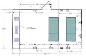 home theater floor plan home theater design plans homecrack com
