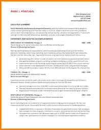 9 summary statement resume examples mbta online
