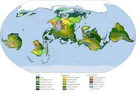 North America Forest Map by The Biomes Of A Tilted Earth U2013 The Map Room