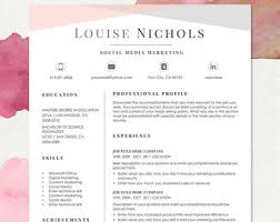 2 Page Resume Sample by Modern Resume Template For Word 1 3 Page Resume Cover
