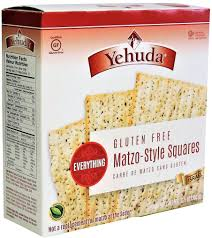 gluten free passover products yehuda gluten free matzo style squares everything kosher for passo