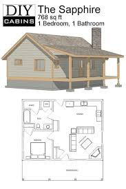 cabin layouts diy cabins the sapphire cabin house plans small