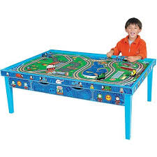 thomas the train wooden track table thomas and friends wooden railway grow with me play table products