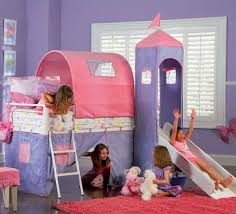 Princess Bunk Bed With Slide Bunk Bed With Slide 4 Great Ideas For Toddlers