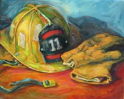 tradition 3 personalized hand painted firefighter canvas