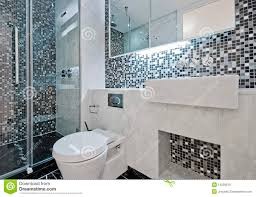bathroom with mosaic tiles royalty free stock photos image 12028518