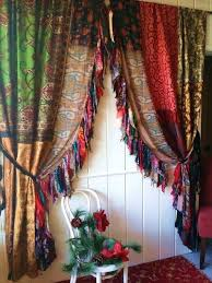 boho gypsy christmas curtains drapes hippie luxe hippy holiday