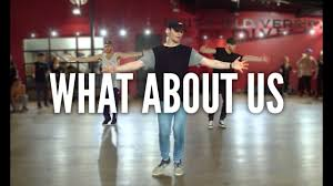 About Pink What About Us Kyle Hanagami Choreography Youtube